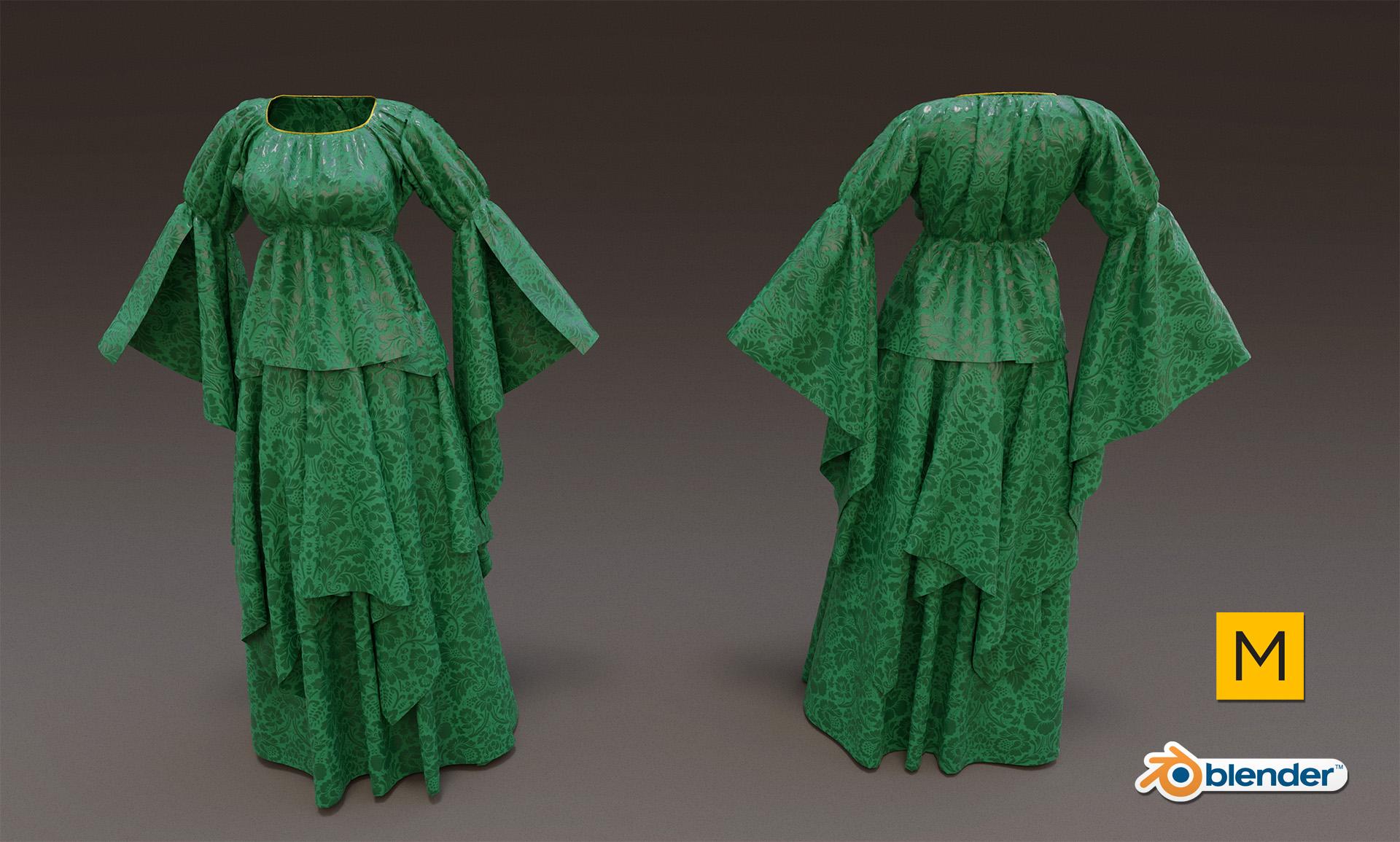 Medieval dress: practise